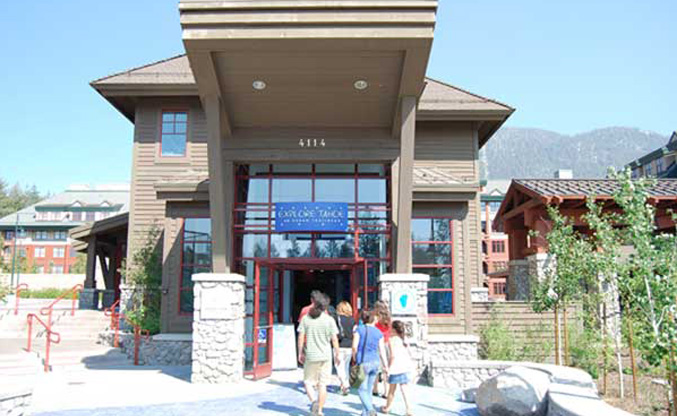 Lake Tahoe Visitor Center Entrance
