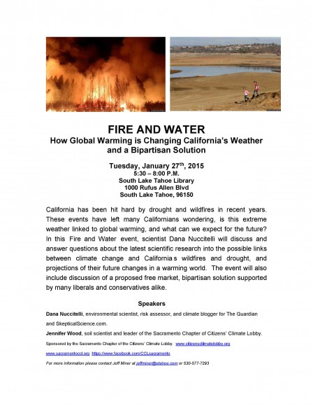 Fire and Water Event Flyer1