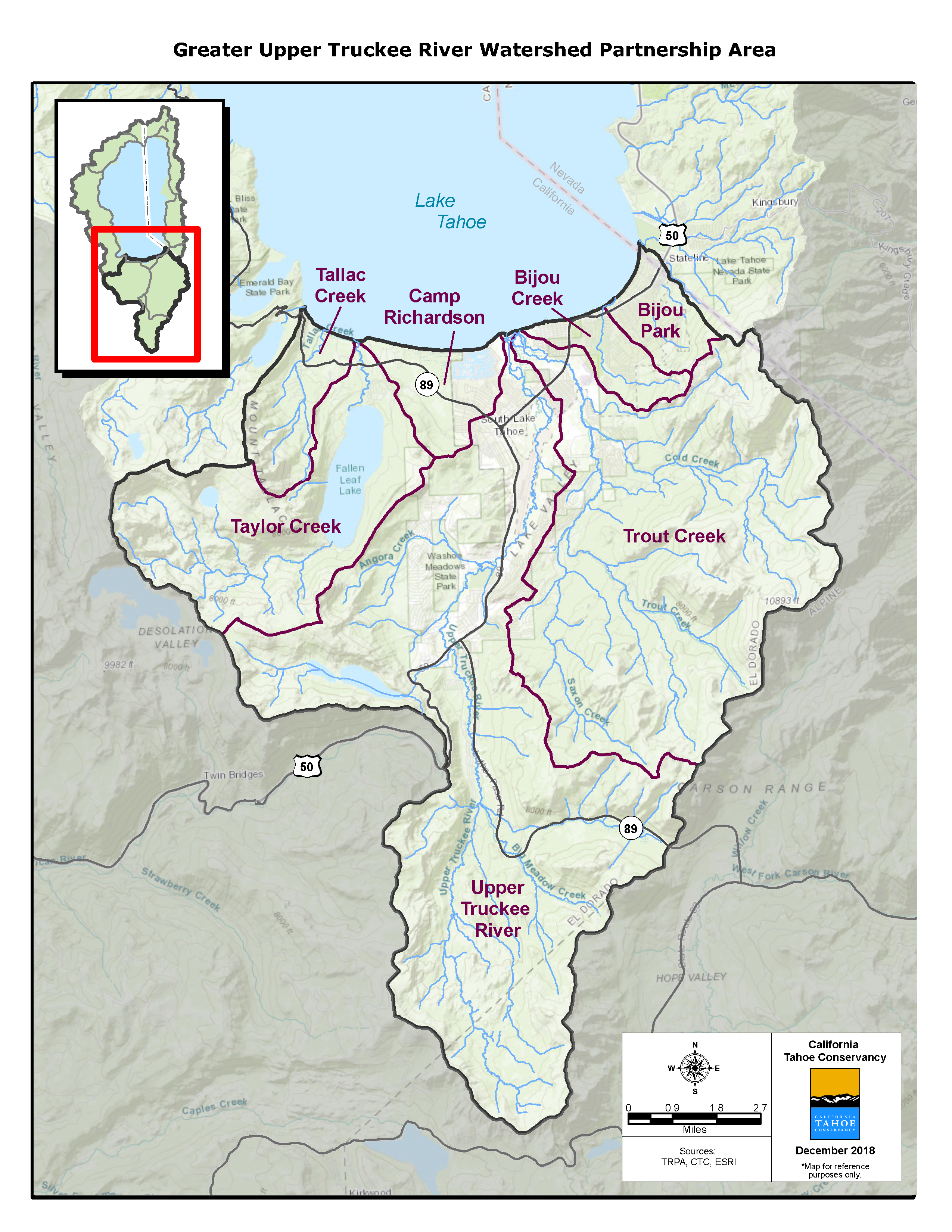 Greater Upper Truckee River Watershed Partnership