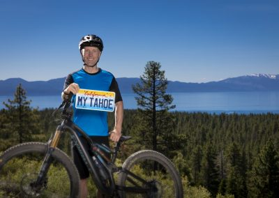 Levi Leipheimer for Lake Tahoe license plates