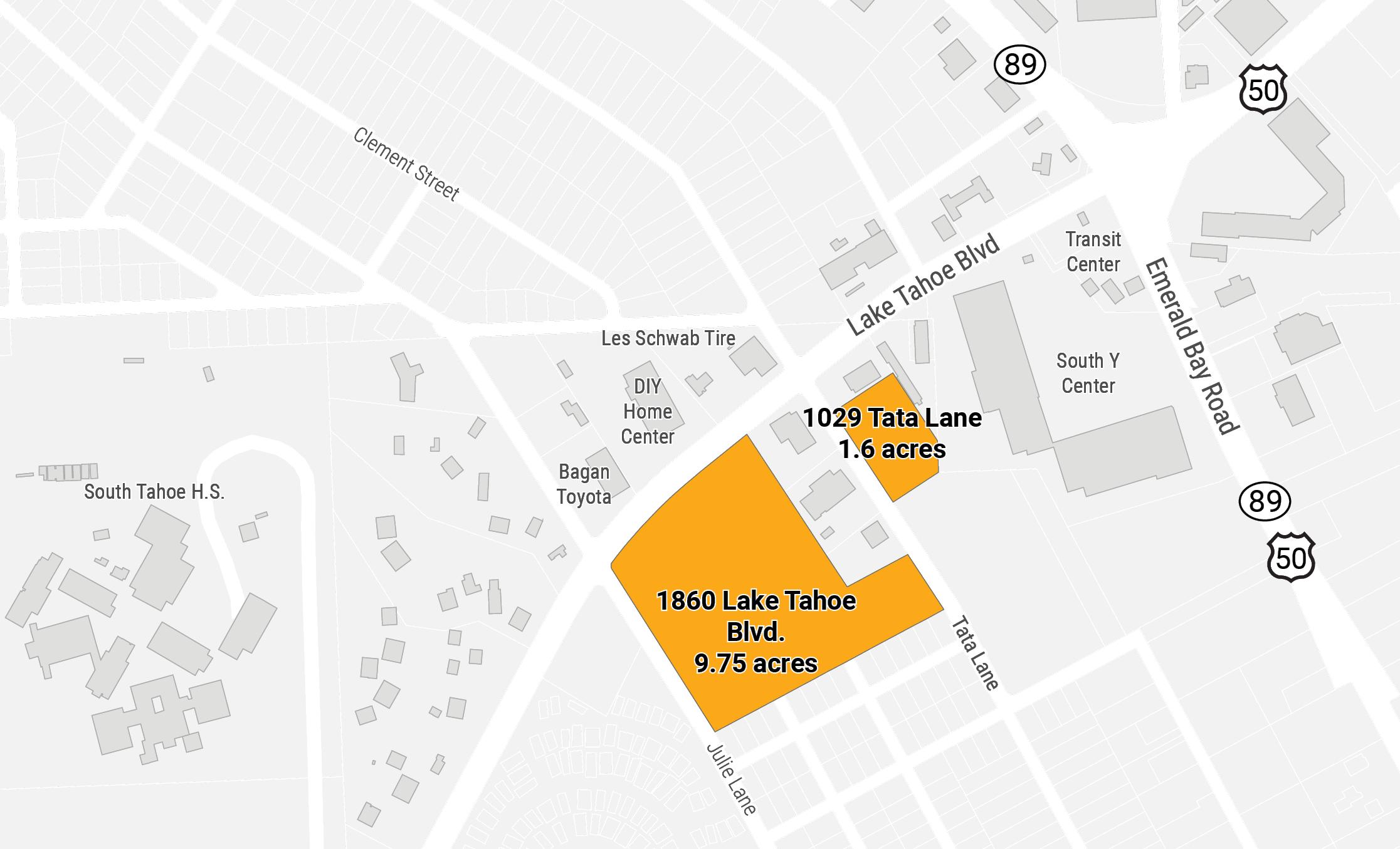 Asset lands near South Tahoe Y Area