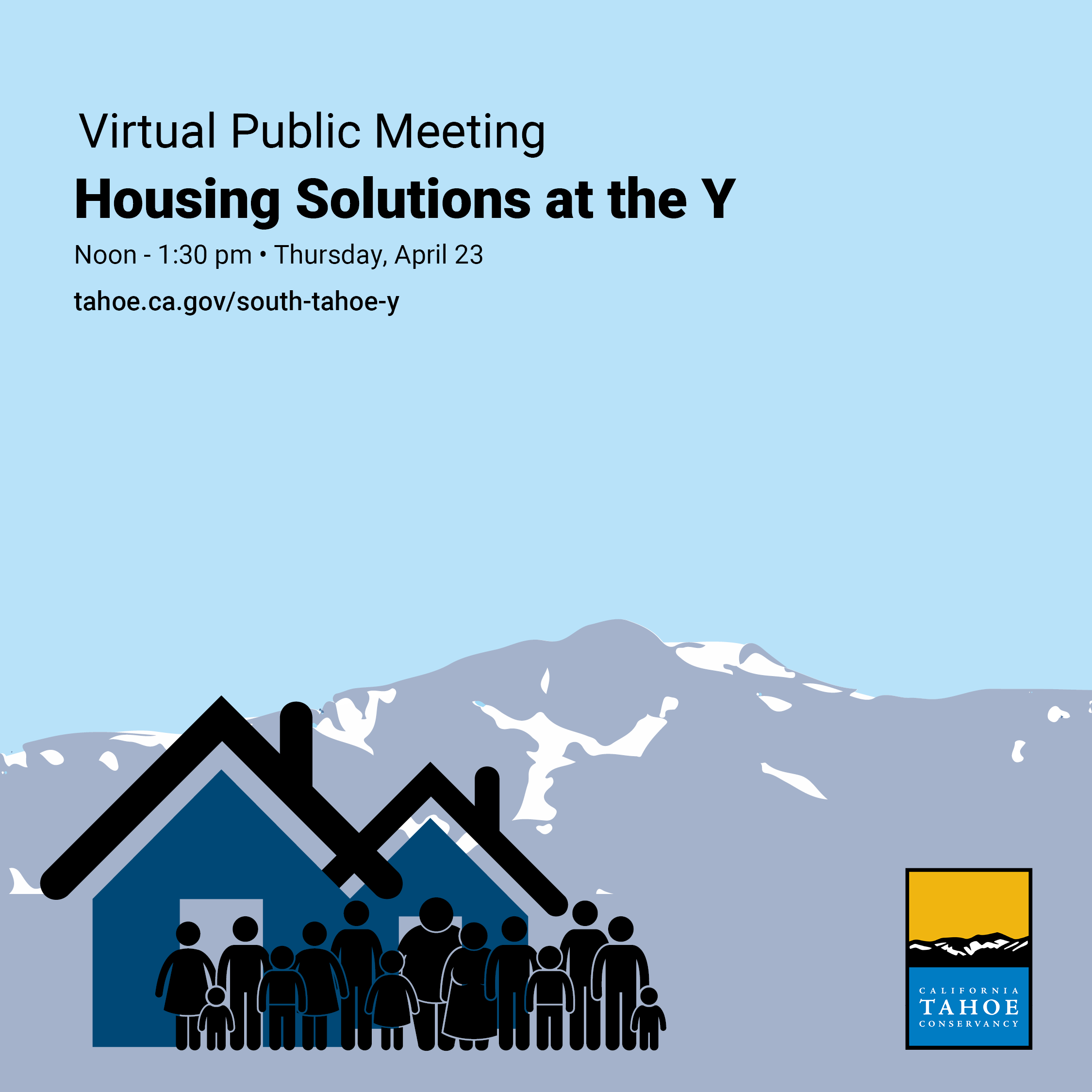 Virtual Public Meeting: Affordable Housing on Conservancy Land in South Lake Tahoe